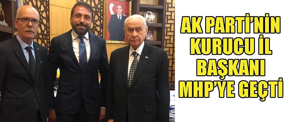 Osman Yüksel MHP'den aday adayı oldu