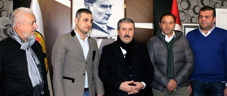 Mustafa Destici'denEskişehirspor'a ziyaret