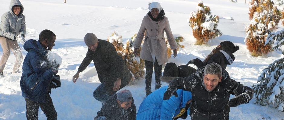 Kar ile Türkiye'de tanıştılar