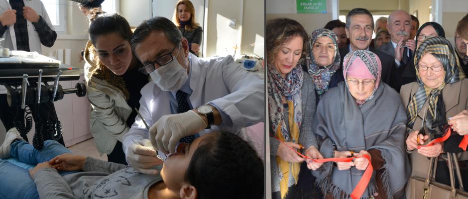 Çukurhisar diş kliniği açıldı