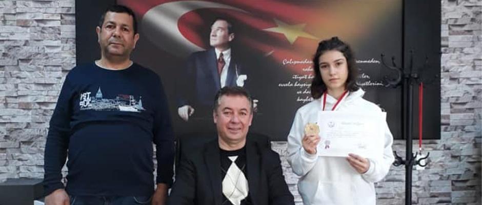 Ayşe Naz Koptagel Türkiye şampiyonu oldu