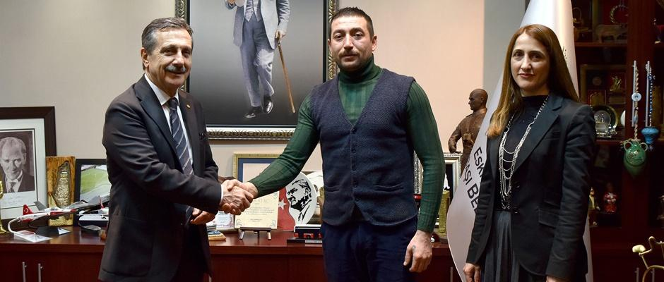 Başkan Ataç'tan kahraman personele tebrik