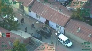 İşte Eskişehir'deki dev operasyonun görüntüleri