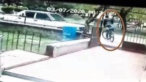 Üniversite öğrencisinin harçlıklarını biriktirip aldığı bisiklet böyle çalındı