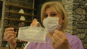 Gelinler için özel maskeler