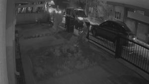Dehşet dolu anlara ait güvenlik kamerası görüntüleri ortaya çıktı
