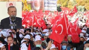 Erdoğan  Eskişehir'de vatandaşa seslendi