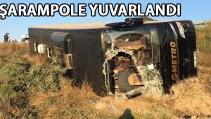 Eskişehir'de otobüs kazası: 13 yaralı