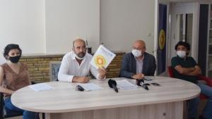Nadir Küpeli basın toplantısı düzenledi