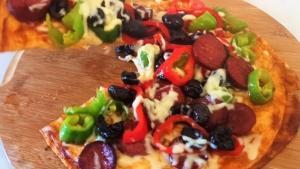 Sahura kolay pizza