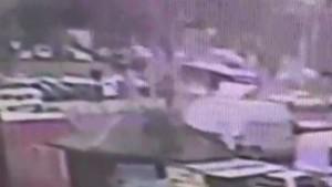 Beyazıt'taki otobüs kazası dehşeti kamerada