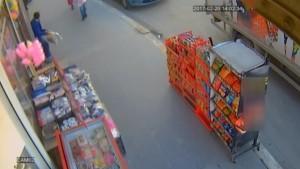 Ceviz hırsızı kamerada
