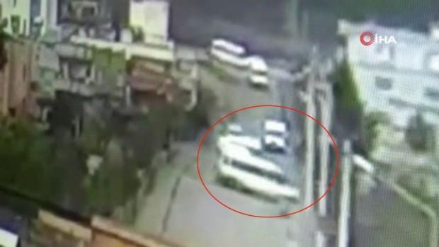 21 kişinin yaralandığı kazanın görüntüleri ortaya çıktı
