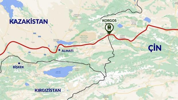2 kıta, 2 deniz ve 5 ülke geçen Türkiye'nin ilk ihracat treni Çin'e ulaştı