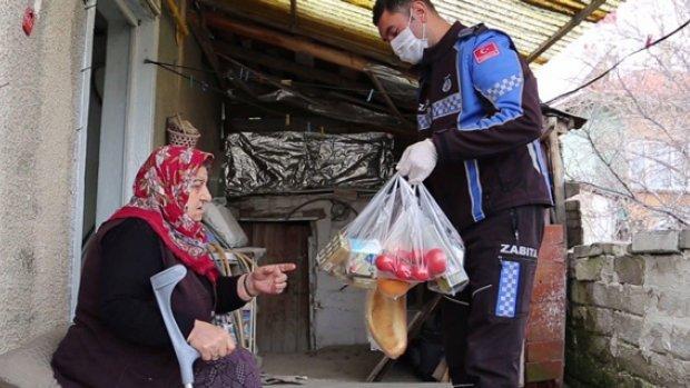 Gönlü zengin Anadolu kadınına bir örnek daha
