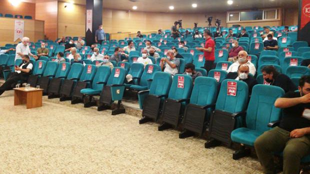 Eskişehirspor olağanüstü kongresi