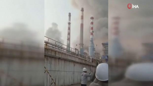 Kömür gazlaştırma tesisinde patlama
