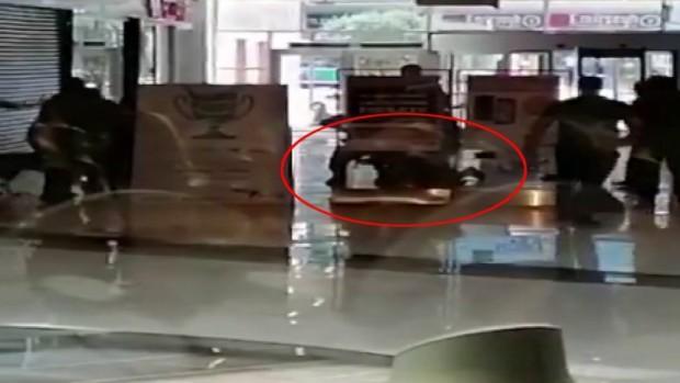 Maltepe'de alışveriş merkezinde dehşet
