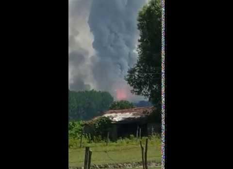 Patlamada 3 kişi kayıp
