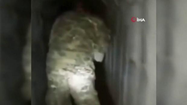 Resulayn'da teröristlerin tünel ağı bulundu