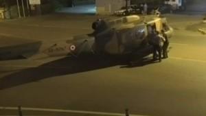 Darbeciler helikopterle böyle kaçtı