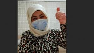 Kütahyalı ilknur hemşire korona virüsünü yendi