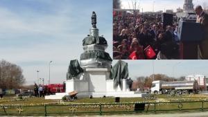 Büyükşehir Belediyesi'nden Ulus Anıtı