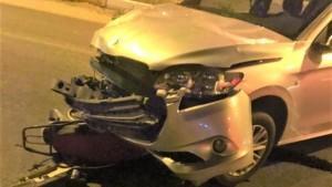 Gençlerin ağır yaralandığı kaza kameralara yansıdı