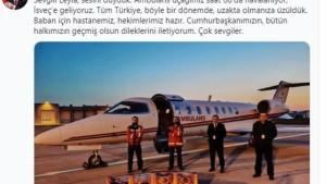 İsveç'te yaşayan Covid-19 hastası Türkiye'ye getiriliyor