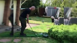 Karantinada golf böyle oynanır