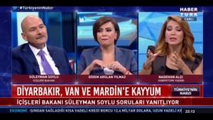 Nagehan Alçı, İçişleri Bakanı Soylu'yu sorusuyla nasıl tahrik etti?