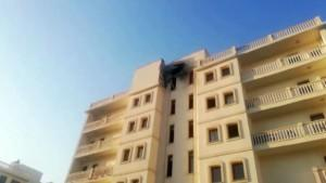 Nusaybin'de bir siteye havan topu düştü: 1 ölü, 7 yaralı