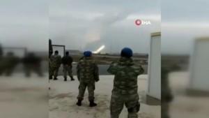 TSK'nın rejim unsurlarına ateş açma anı kamerada