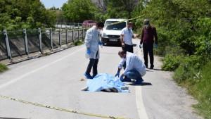 Yolda koşarken hayatını kaybetti